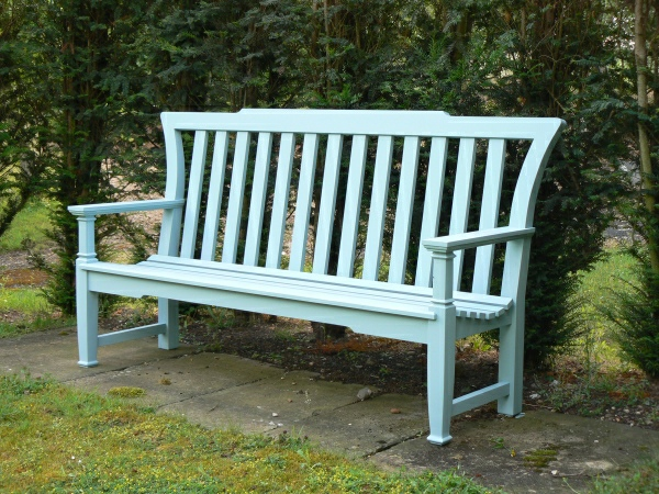 Three Seater Garden Seat - Leighton Style