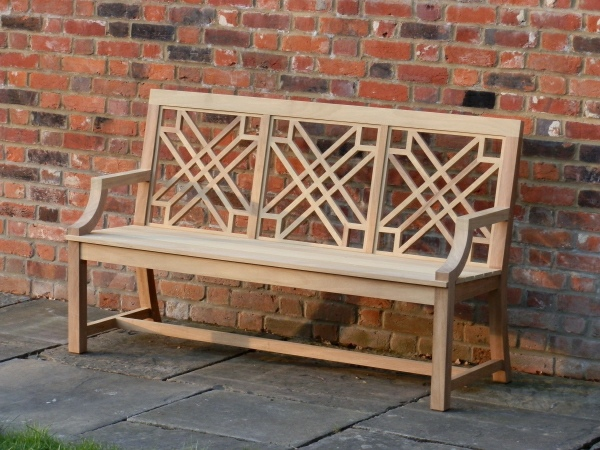 Three Seater Garden Seat - The Pavilion Style