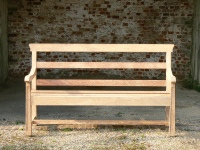Three Seater Garden Seat - Railway Style