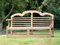 Three Seater Garden Seat - Sissinghurst Style