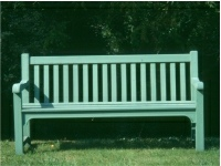 Garden Three Seater Seat - Slatted Style