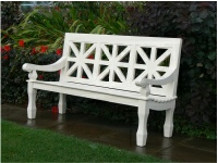 Three Seater Garden Seat - Union Style