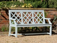 Three Seater Garden Seat - Charles Over 3 Panels Style