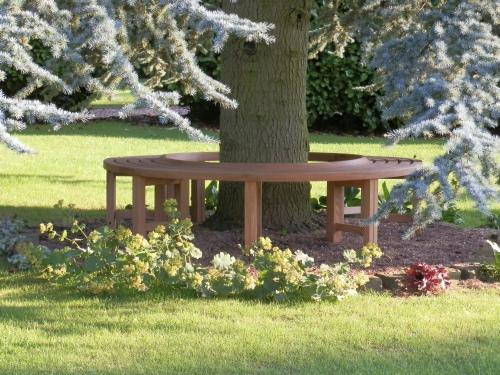Tree Seats Garden Furniture Oak Backless Tree Seat Hoodini Backless Tree Seats