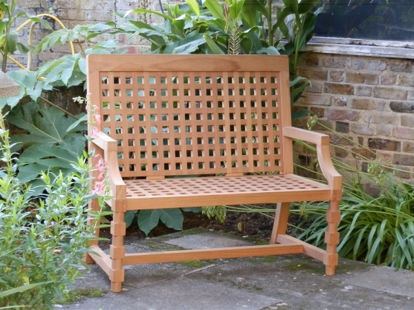 Two Seater Garden Seat - Baroque Style