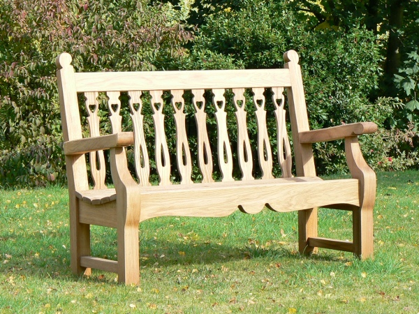 Two Seater Garden Seat - Biddenham Style