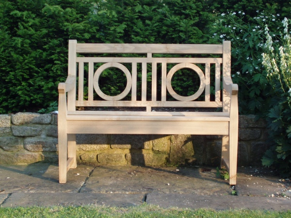 Two Seater Garden Seat - Leagrave Style