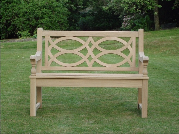Two Seater Garden Seat - Hatfield Style