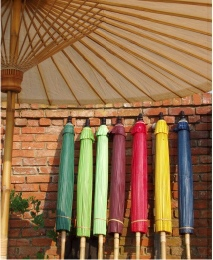 Orioental Garden Umbrellas - Round Umbrellas, 9 colours