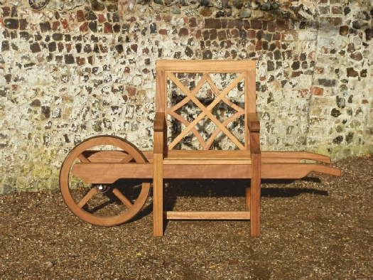 Wheelbarrow Chair - Charles Over style