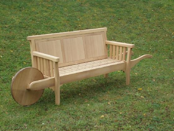 arts crafts wheelbarrow seat rh andrewcrace com