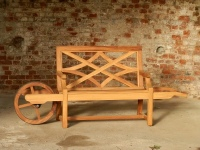 Wheelbarrow seat - Charles Over style