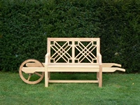 Wheelbarrow Seat - The Pavilion style
